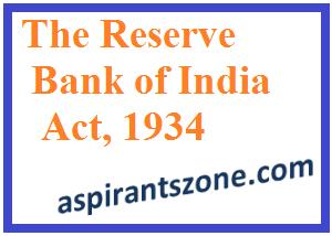 RBI Act 1934